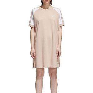 BRAND NEW adidas tan t-shirt dress